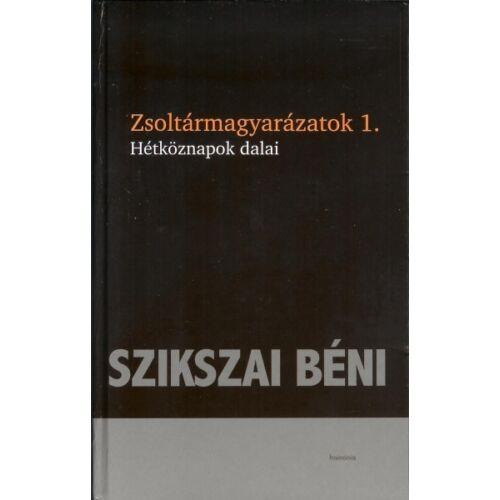 Szikszai B. - Zsoltármagyarázatok 1-3.
