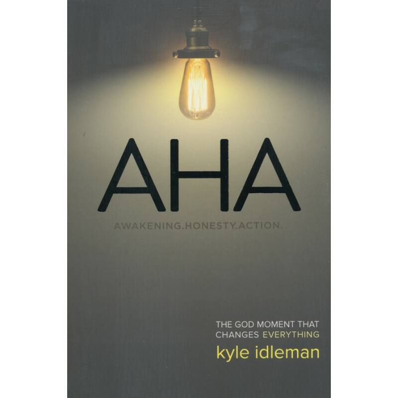 Kyle Idleman - AHA: The God Moment That Changes Everything