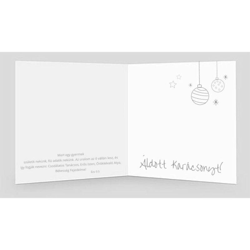 B/Kar.képeslap (arany) - 02