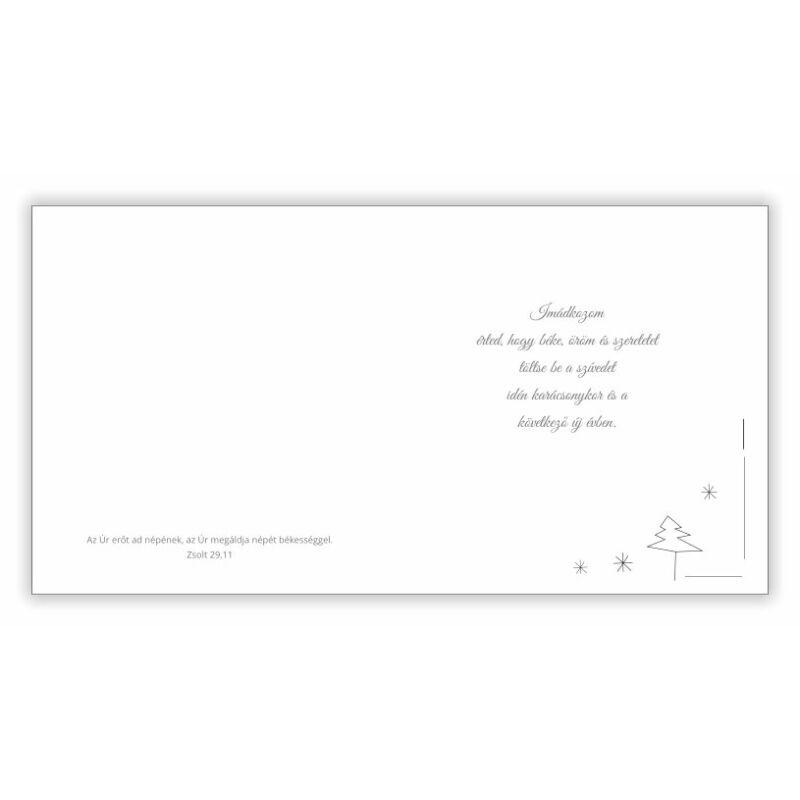 B/Kar.képeslap (arany) - 01