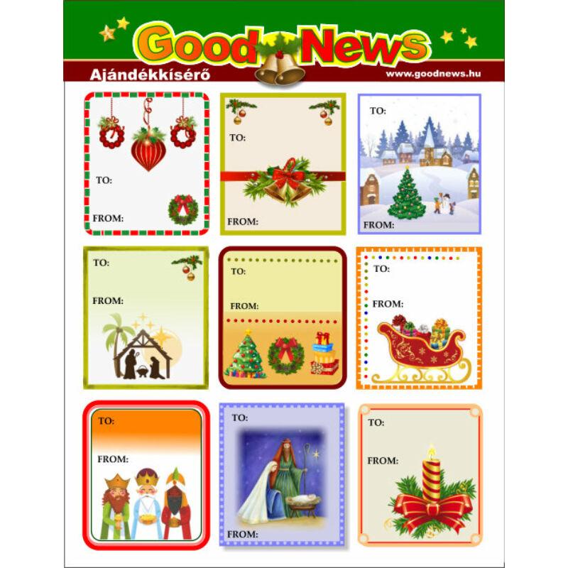 Karácsonyi matrica - 01