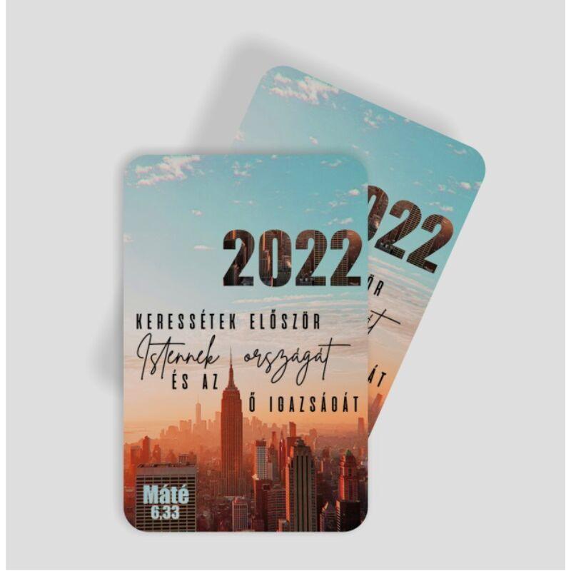 Kártyanaptár csomag (10db) 10