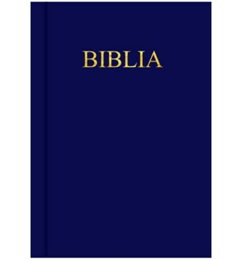 Biblia - EFO - kemény borítás (sötétkék)