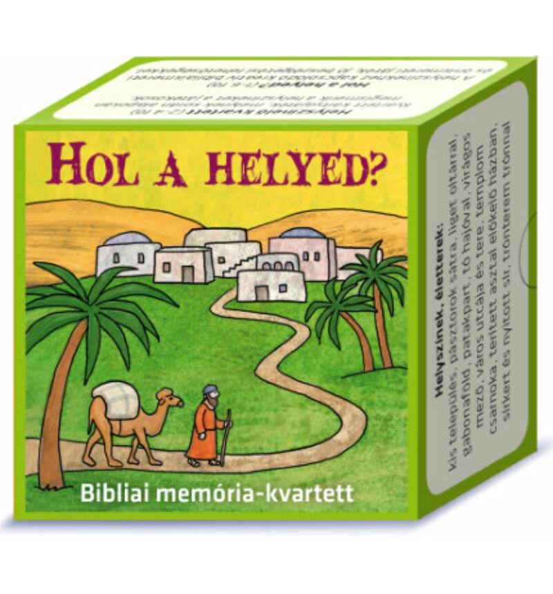 Memó - Hol a helyed? - Bibliai memória-kvartett