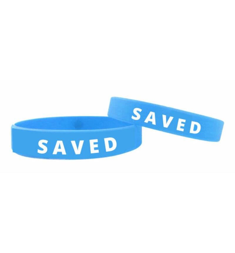 Karkötő - SAVED / világoskék