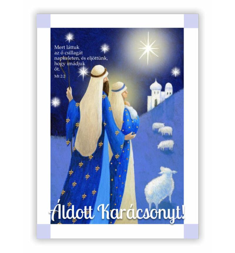 Képeslap - karácsonyi / nyílt 14