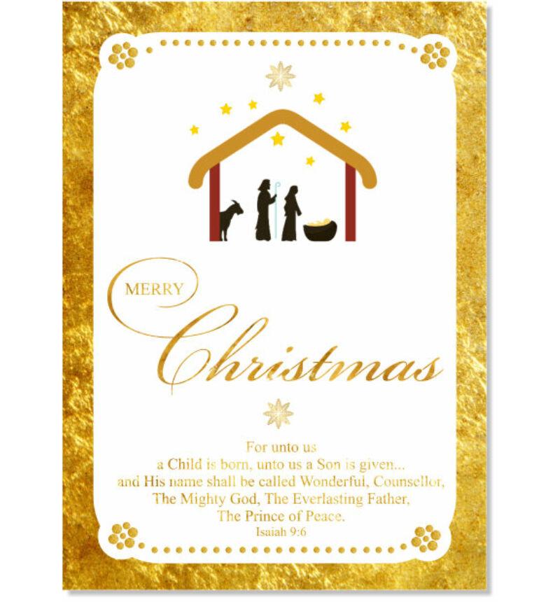 Képeslap - karácsonyi / nyílt 16 (angol nyelvű!)
