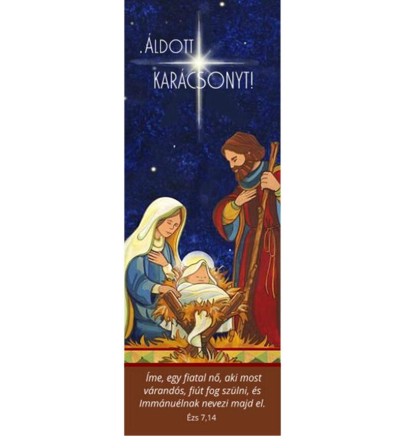 Karácsonyi Könyvjelző - 07 (10db)