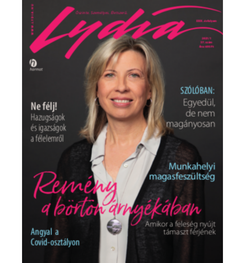 Lydia magazin - 2021 tavasz