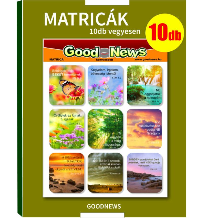Matrica - (10db-os) csomag /vegyes