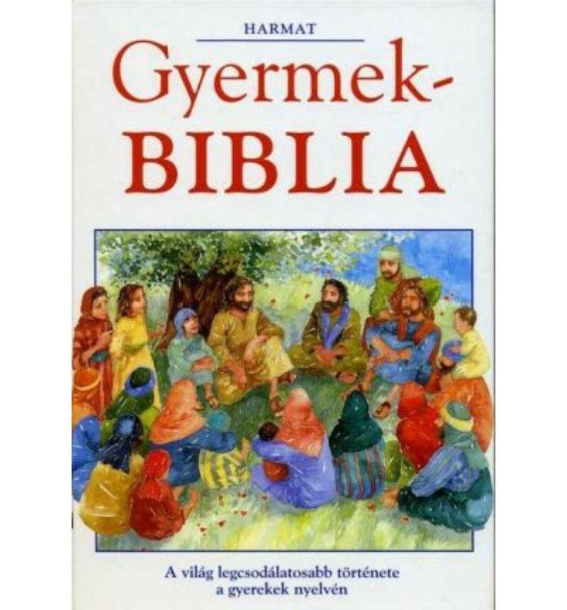 Gyermek BIBLIA (Harmat)