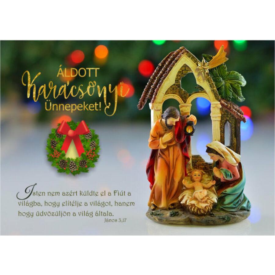 Képeslap - karácsonyi / nyílt 05