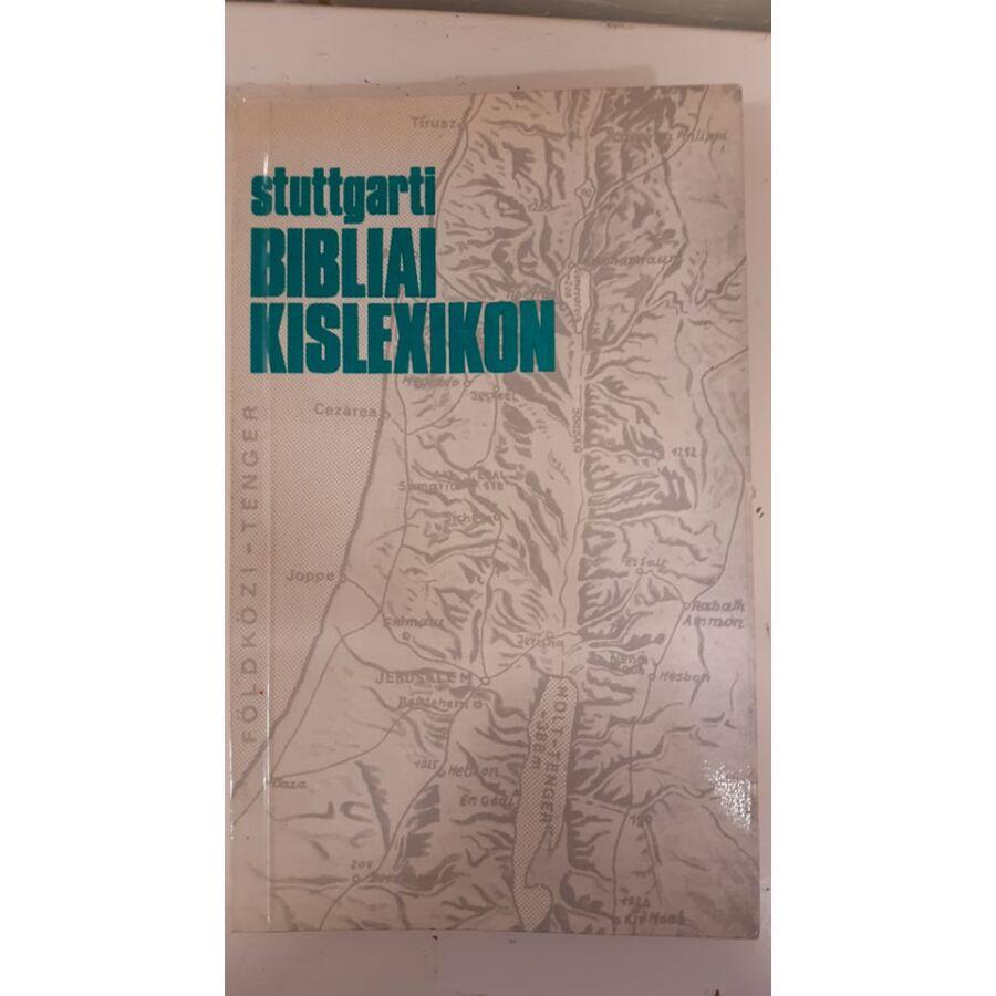 Stuttgarti Bibliai Kislexikon - használt könyv