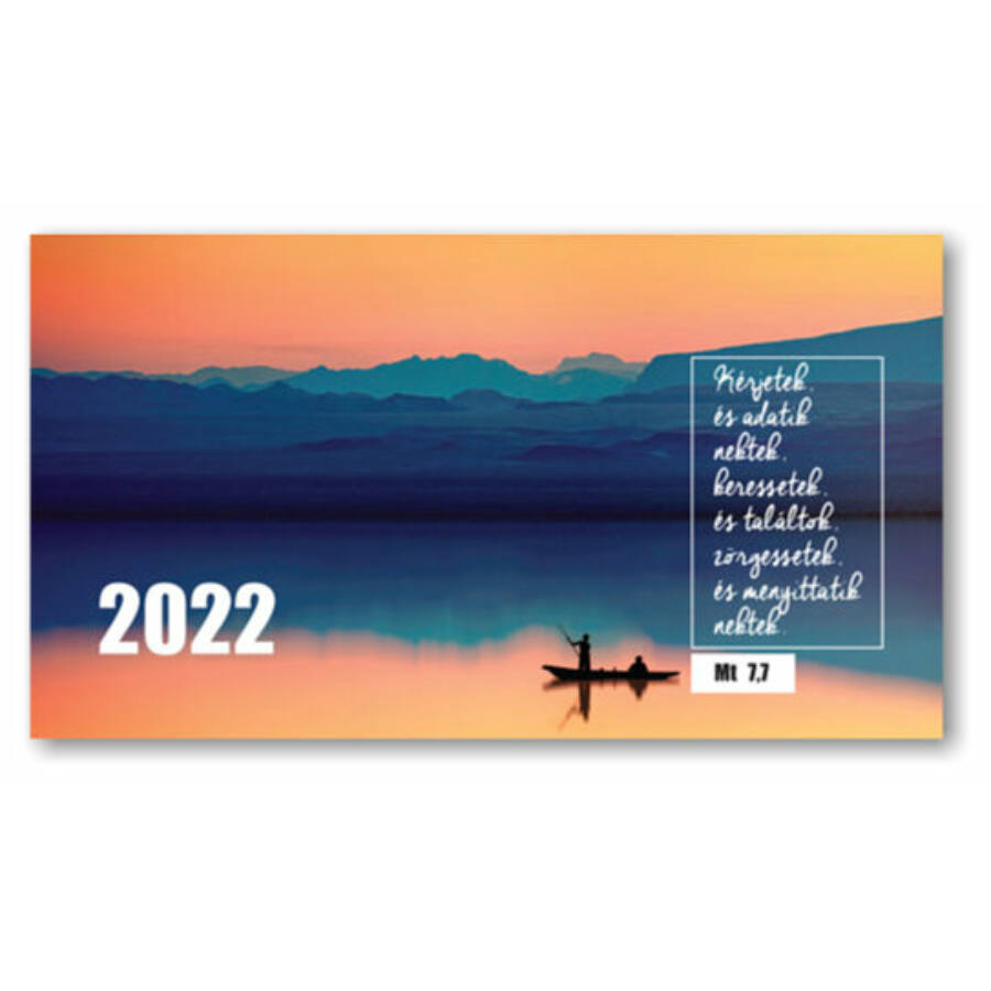 Zsebnaptár - 2022 (Kérjetek és adatik nektek..)