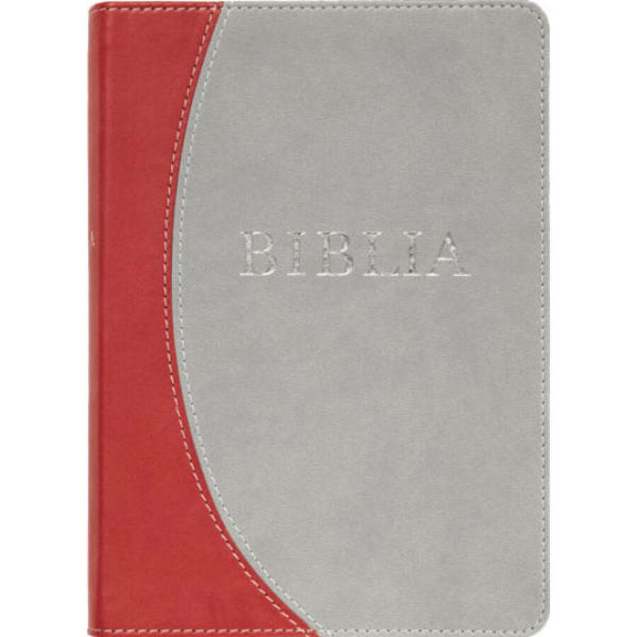 Biblia - RÚF (kicsi) puha /szürke-bordó